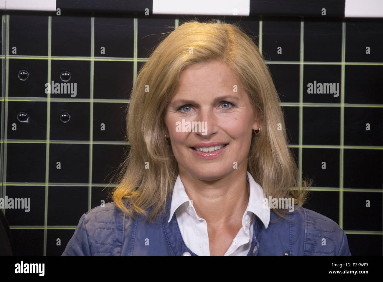 katrin mueller hohenstein at a photocall to celebrate 50th stock photo 70507895 alamy