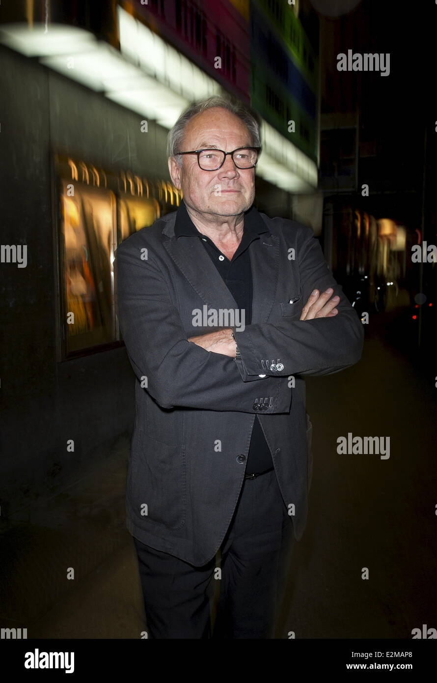 Klaus Maria Brandauer at the Der Fall Wilhelm Reich Premiere at Kant Kino movie theater.  Where: Berlin, Germany Stock Photo