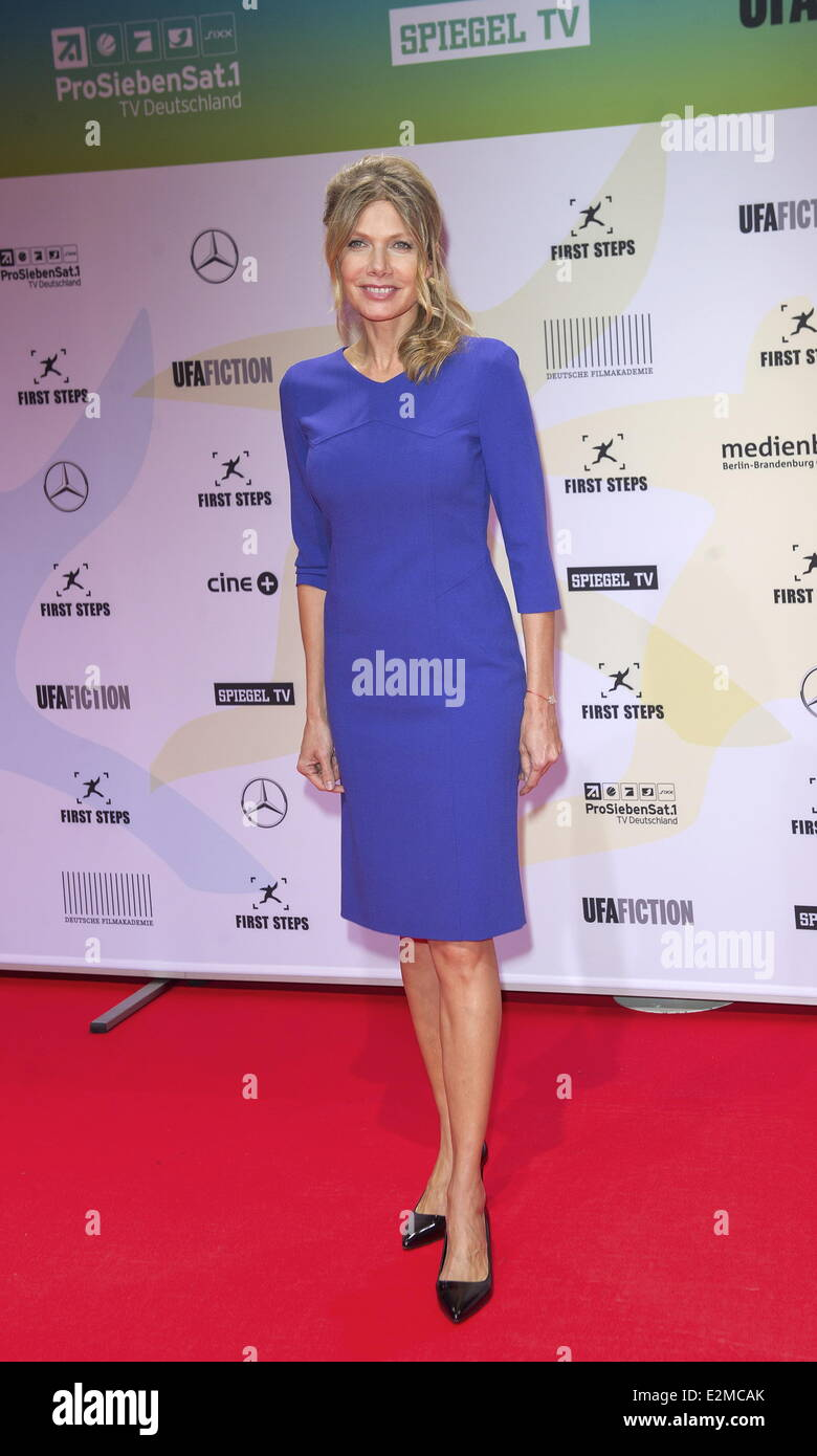 ursula karven at first steps awards at berlin stage theater