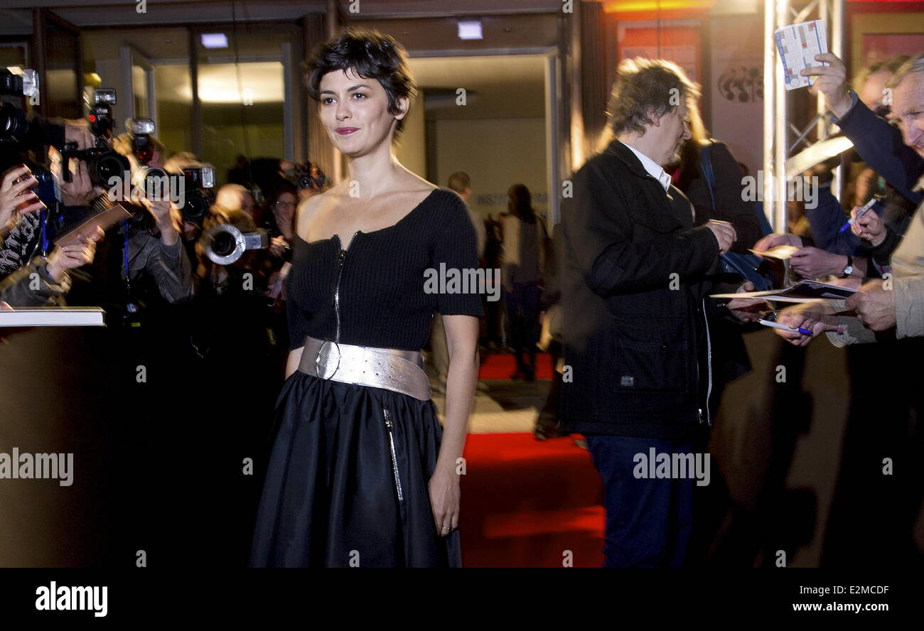 at Schaum der Tage premiere at Cinema Paris movie theater.  Where: Berlin, Germany When: 17 Sep 2013 - Stock Image