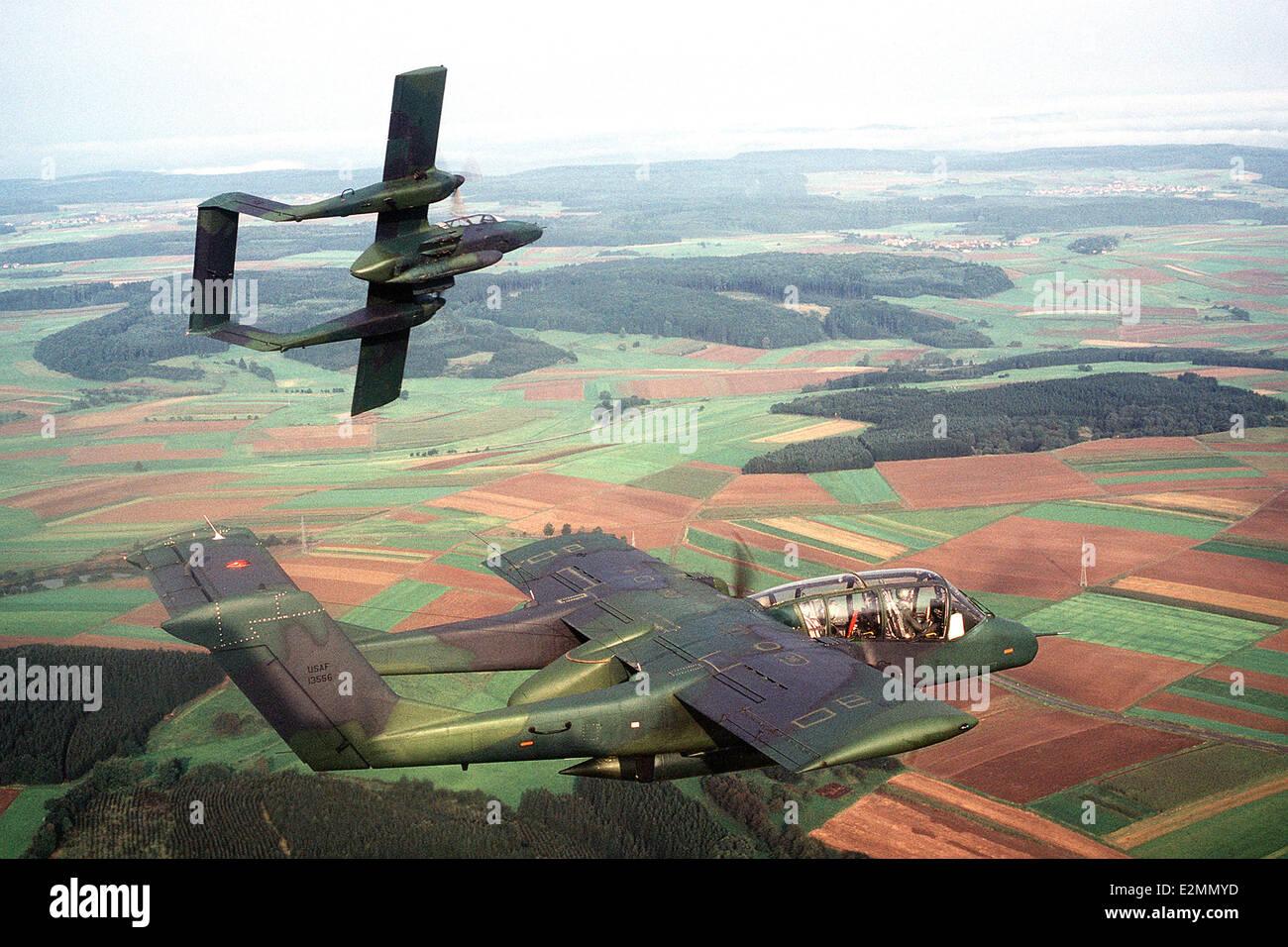 OV-10 Bronco aircraft, Light Armed Reconnaissance Aircraft - Stock Image