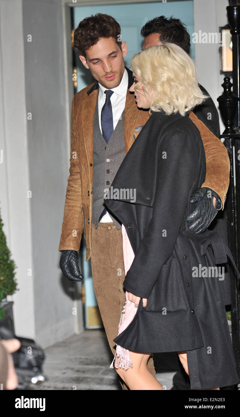 c7bc23fc London Collections: Men - Tommy Hilfiger and Esquire - party held at The  Zetter Townhouse - Arrivals Featuring: Kimberly Wyatt,Guest Where: London,  ...