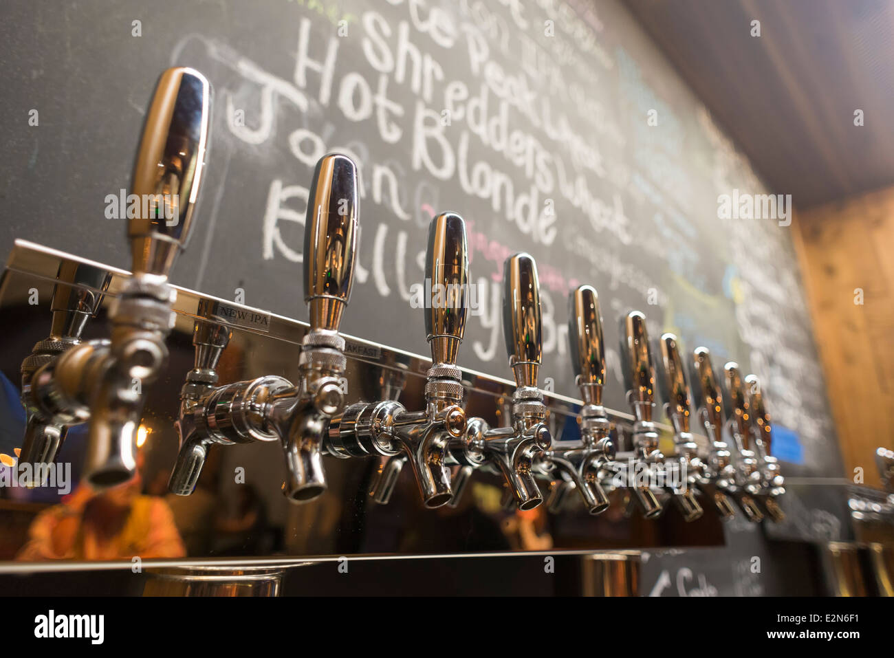 Beer Taps Stock Photos & Beer Taps Stock Images - Alamy