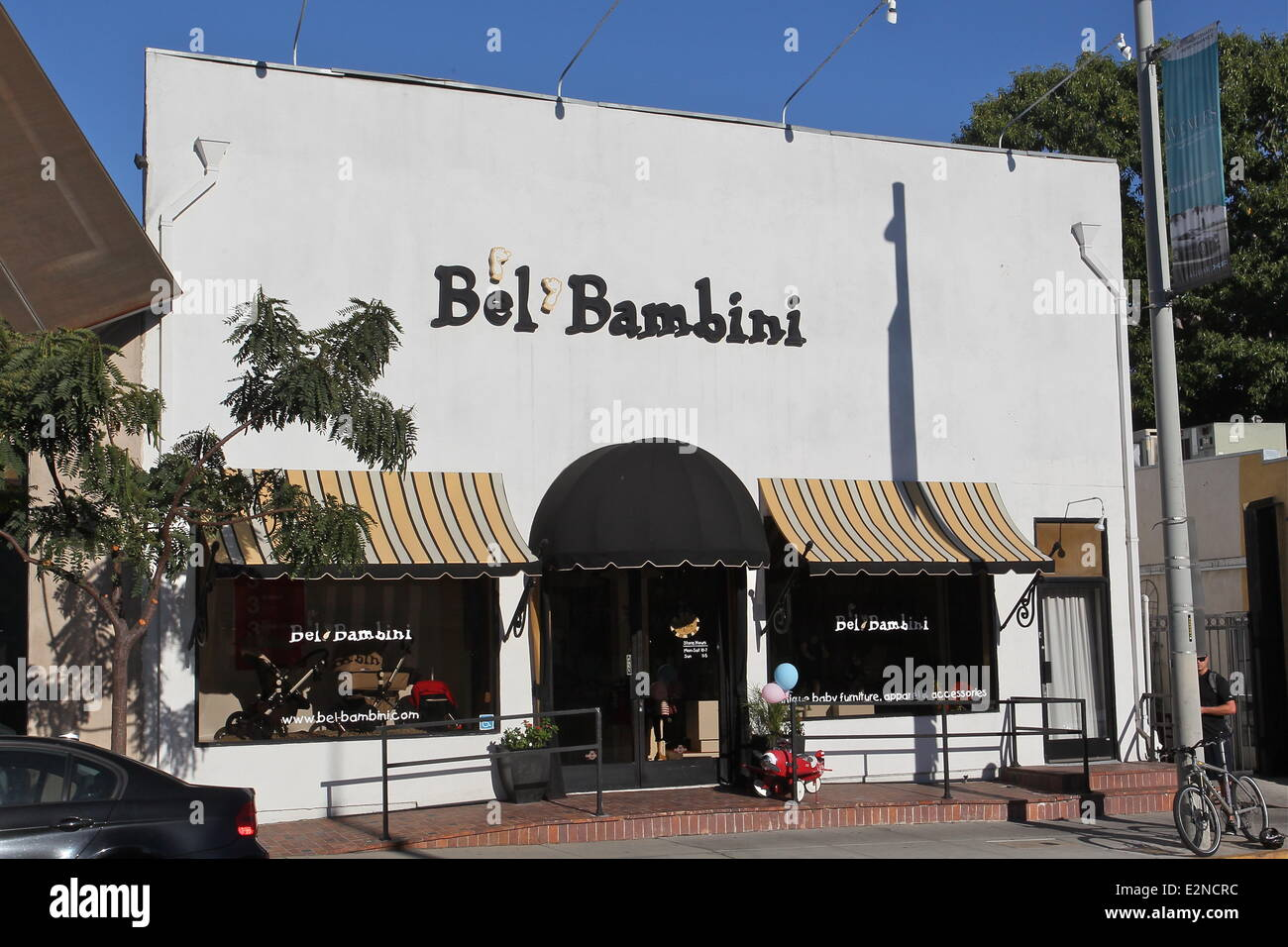 d942889e3be Adele aka Adele Adkins shops at Bel Bambini Baby Boutique in Beverly Hills  Featuring  Exterior