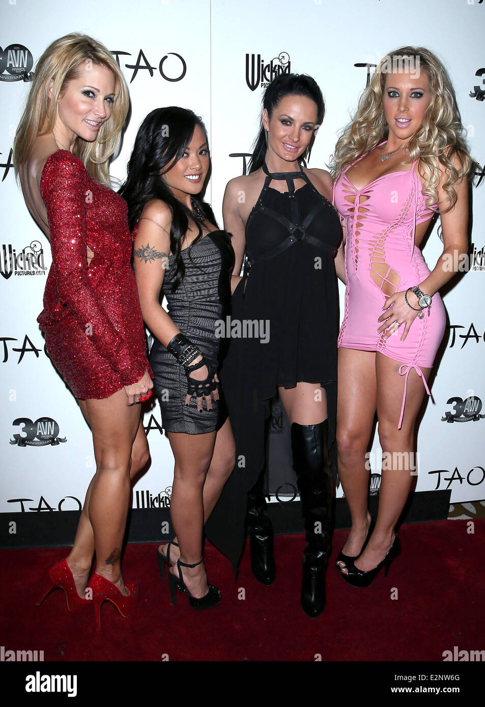Official Avn Awards Pre Party At Tao With Special Guests The Wicked Girls Inside The