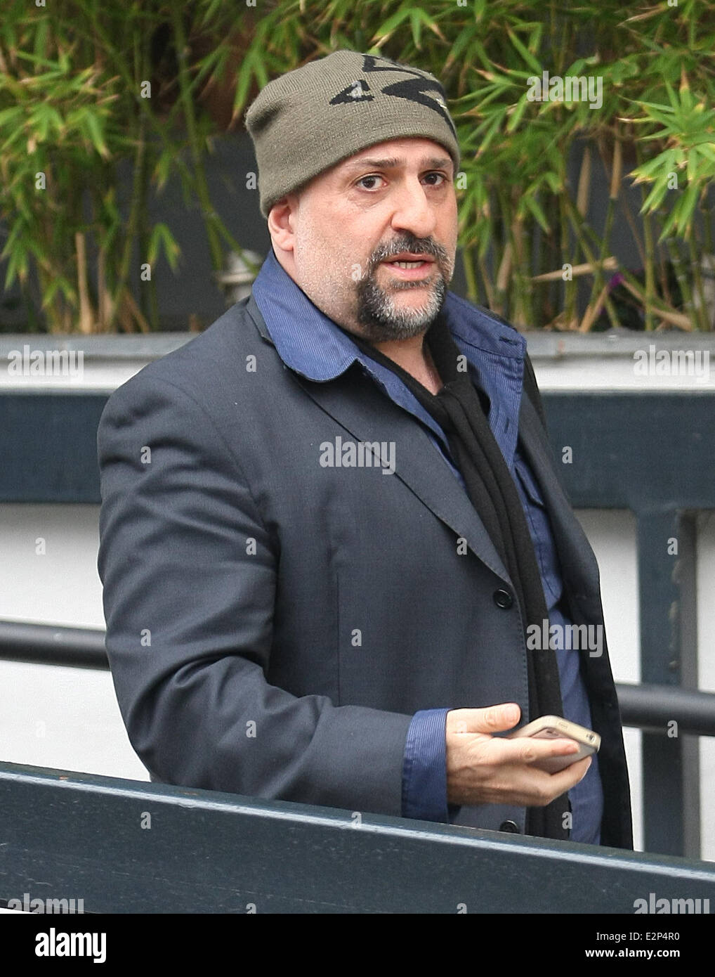 Celebrities at the ITV studios  Featuring: Omid Djalili Where: London, United Kingdom When: 23 Jan 2013 - Stock Image