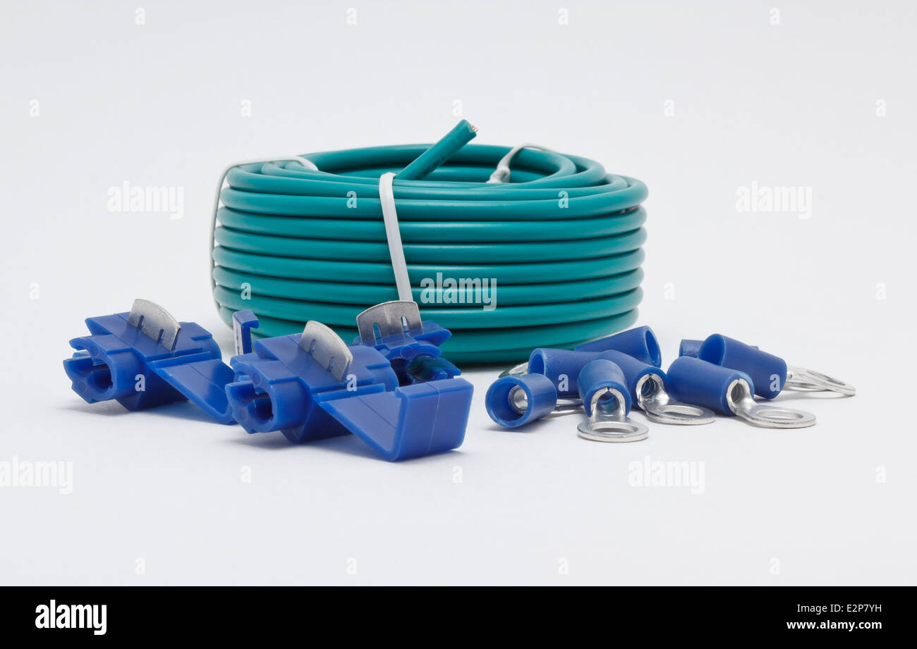 Electrical Wire Connectors Stock Photos & Electrical Wire Connectors ...