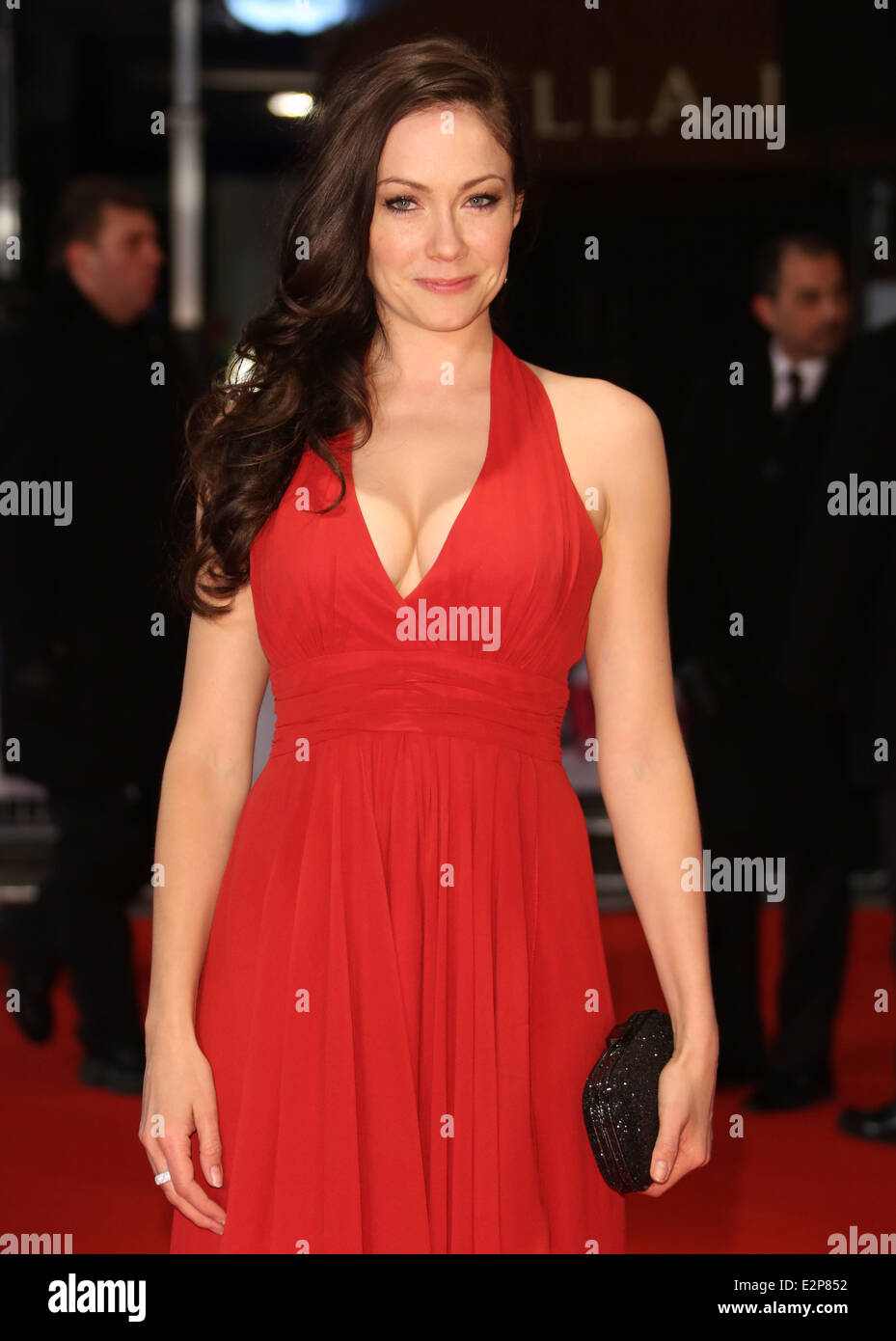 "Anna Skellern Photos the european premiere of ""i give it a year"" - arrivals"
