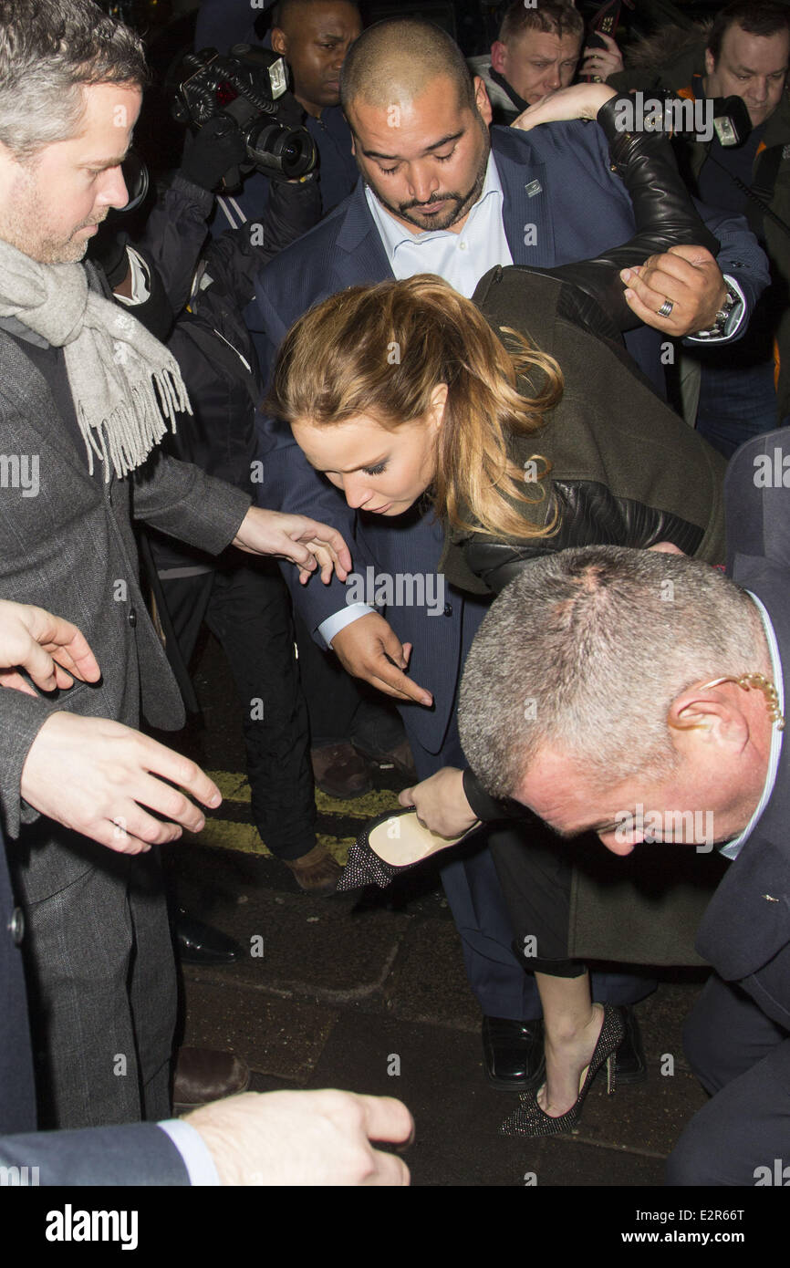 Remarkable, jennifer lawrence loses her shoe all not