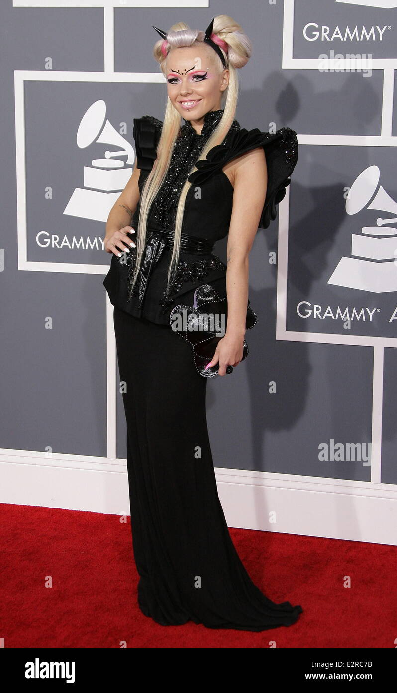 aaf3ba174faf 55th Annual GRAMMY Awards - Arrivals held at Staples Center Featuring   Kerli Where  Los Angeles