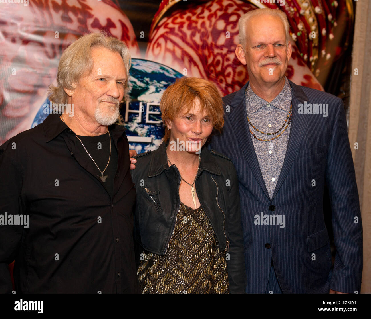 The Nobelity Project Dinner at the Four Seasons - Arrivals  Featuring: Kris Kristofferson,Shawn Colvin,Turk Pipkin - Stock Image
