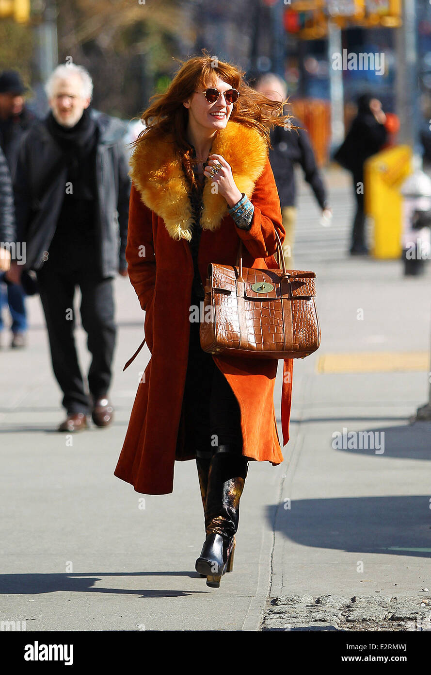 Image result for FLORENCE WELCH winter outfits