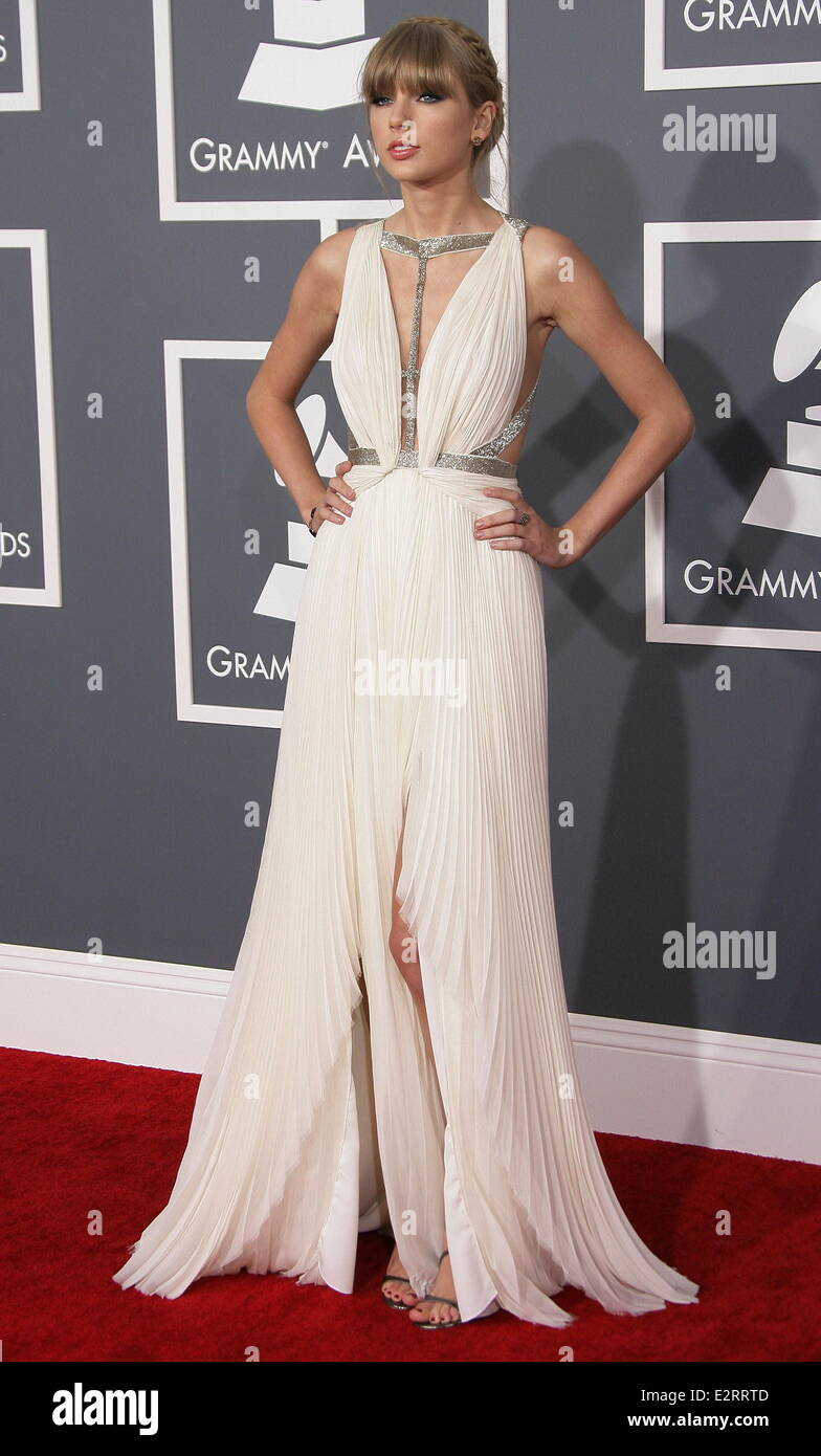 cea837b648e5 55th Annual GRAMMY Awards - Arrivals held at Staples Center Featuring   Taylor Swift Where  Los Angeles