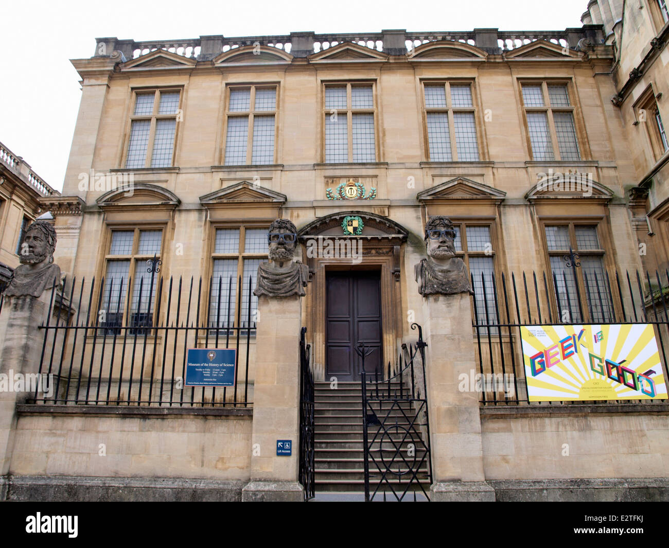 Museum of the History of Science, Oxford, UK - Stock Image