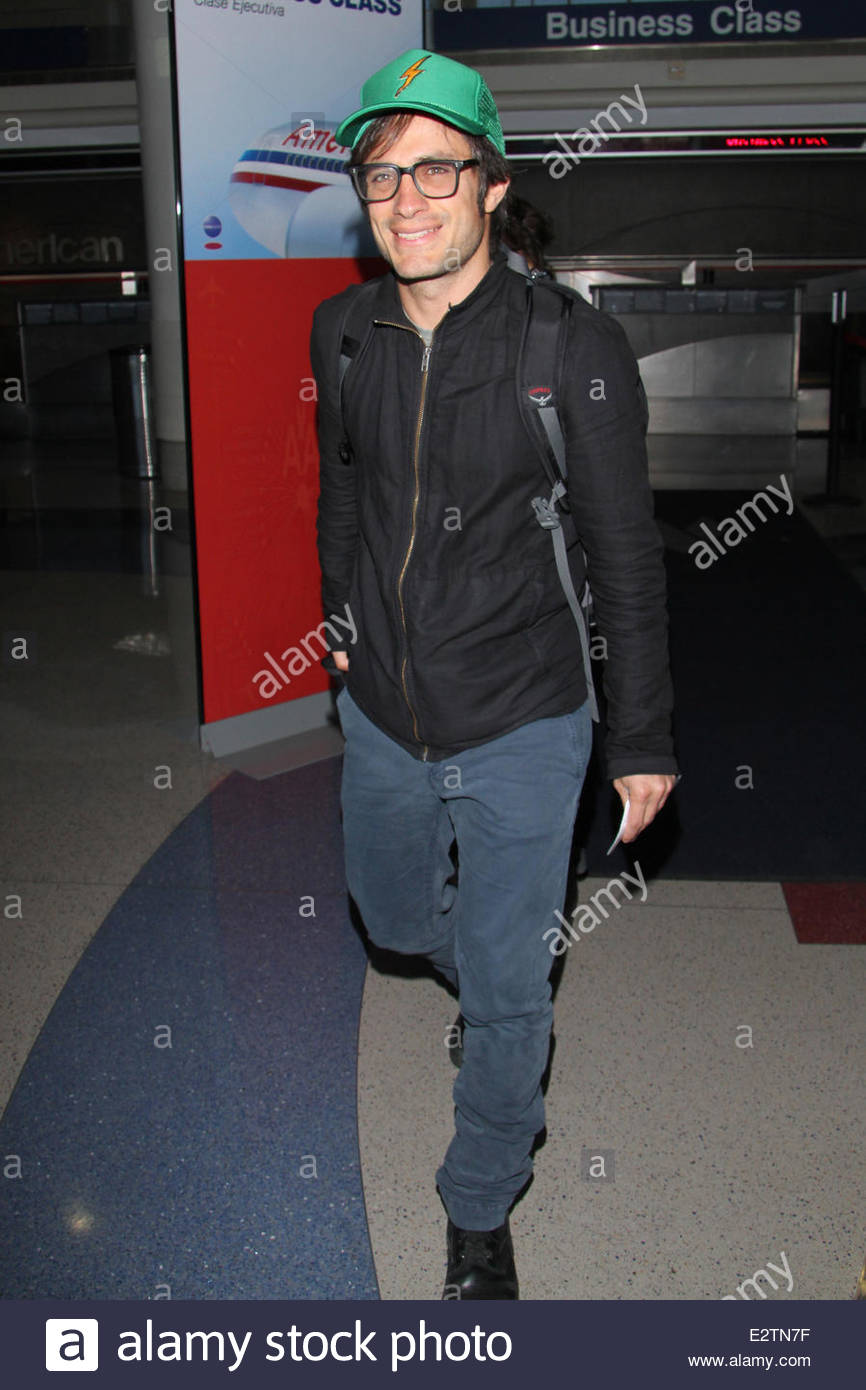 b64bdb74b34 Actor Gael Garcia Bernal arrives at LAX in a casual outfit Featuring  Gael  Garcia Bernal Where  Los Angeles