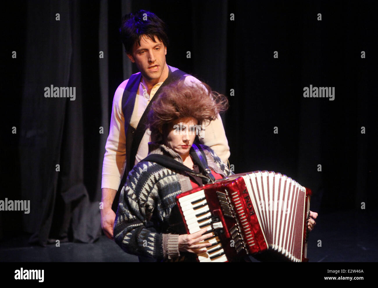 TDF Gala honoring Philip J. Smith held at the Edison Ballroom  Featuring: The cast of Forbidden Broadway Where: - Stock Image