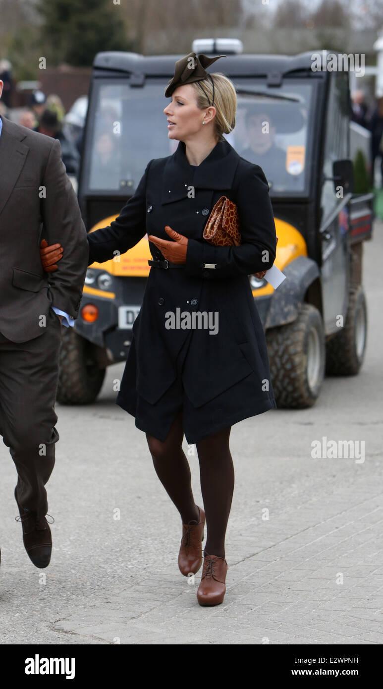 Day Three of The Cheltenham Festival - Arrivals Featuring  Zara Phillips  Where  Cheltenham 51f151285e44