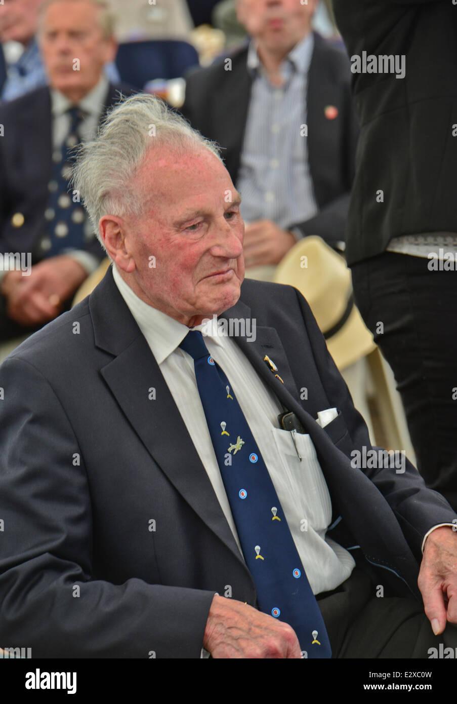 Staverton, Cheltenham, Gloucestershire, UK . 21st June, 2014. Picture Shows:RAF Veterans gather at Project Propeller, - Stock Image