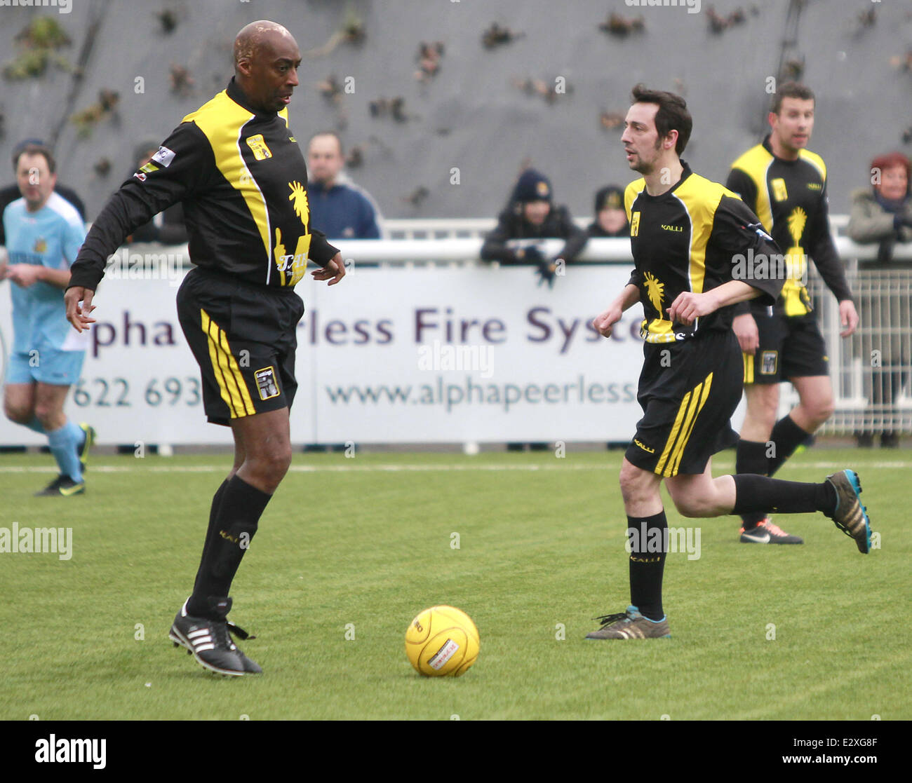 Ralf Little playing for the Lashings All-Stars in a charity
