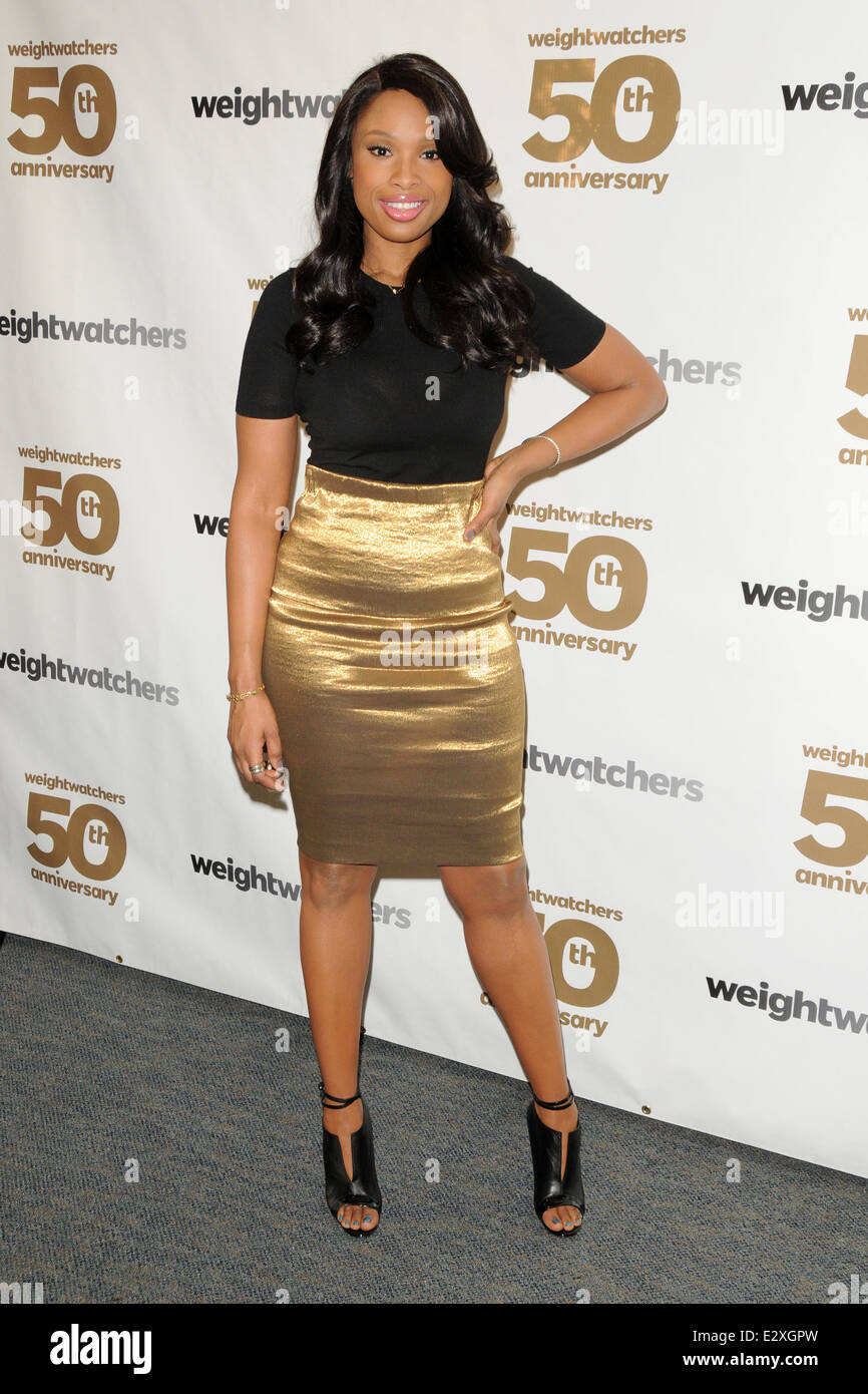 Weight Watchers celebrates it's 50th anniversary with a tribute to it's founder by Jennifer Hudson  Featuring: Jennifer Stock Photo