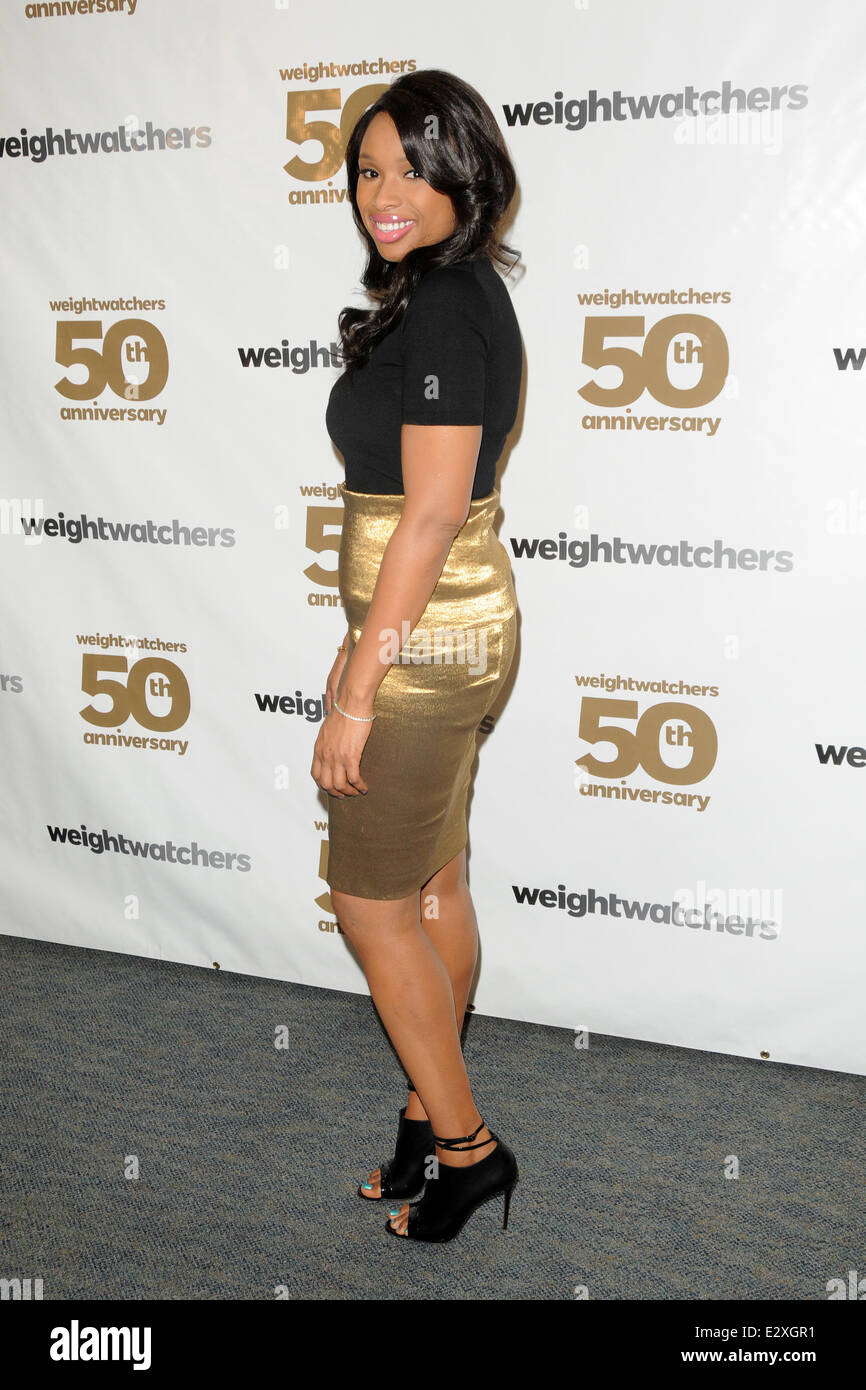 Weight Watchers celebrates it's 50th anniversary with a tribute to it's founder by Jennifer Hudson  Featuring: - Stock Image