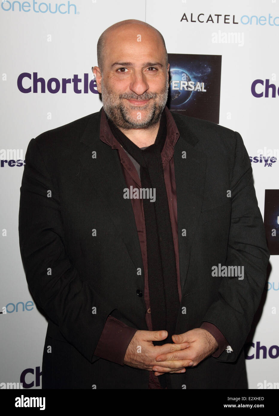 Chortle Comedy Awards 2013 at Cafe de Paris  Featuring: Omid Djalili Where: London, United Kingdom When: 25 Mar - Stock Image