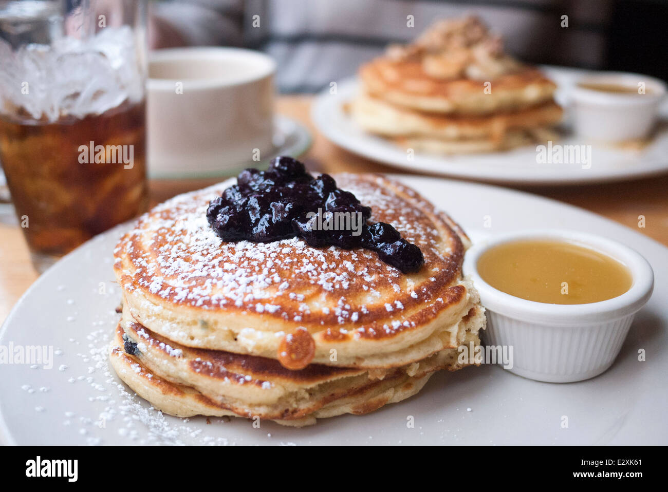 American Diner Pancakes High Resolution Stock Photography And Images Alamy