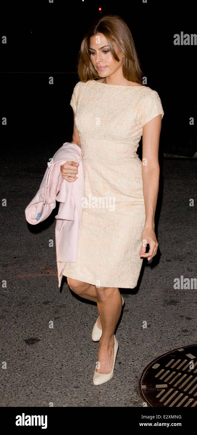 3aa3a3618a Eva Mendes out and about in Manhattan Featuring  Eva Mendes Where  New York  City