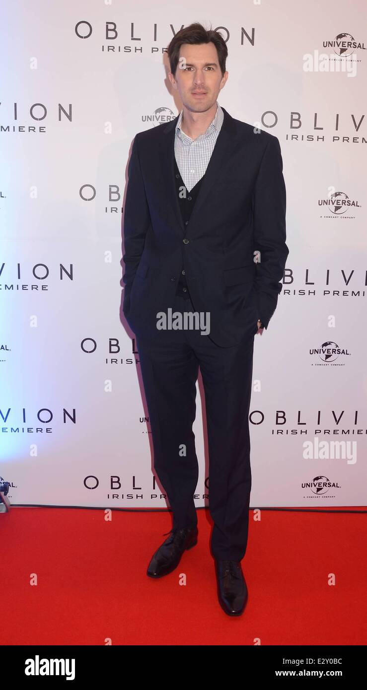 The Irish Premiere of 'Oblivion' at The Savoy Cinema- Inside Arrivals  Featuring: Joseph Kosinski Where: - Stock Image