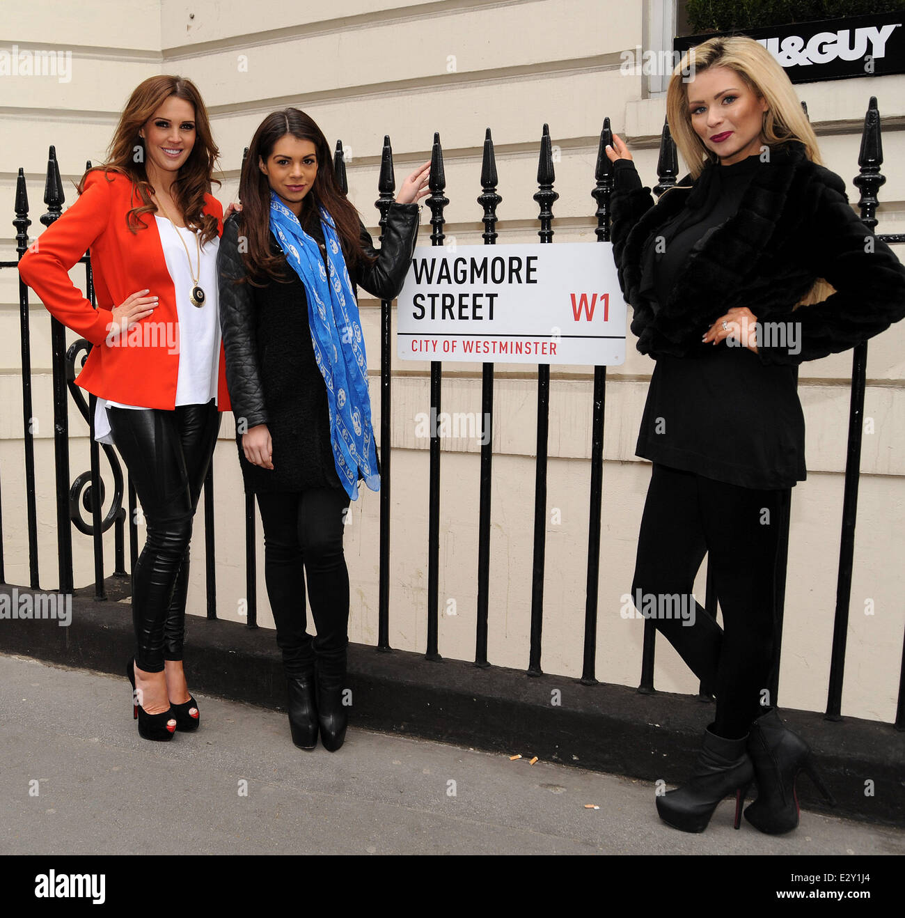 Football Wags Danielle Lloyd Nicola Mclean And Bianca Slater