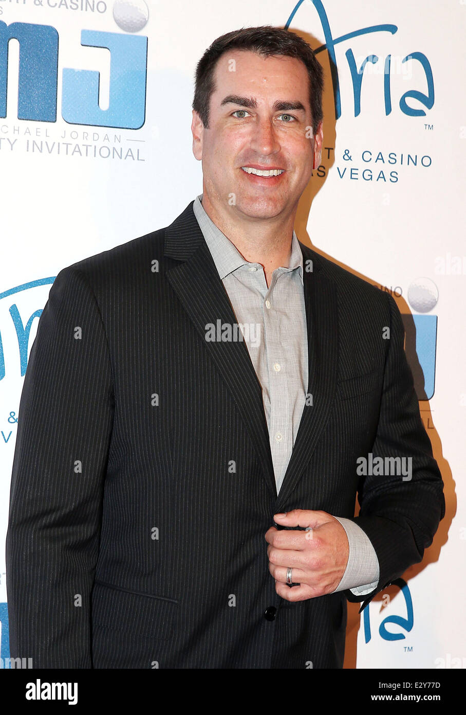 0796b8722d 12th Annual Michael Jordan Celebrity Invitational Gala at Aria Resort and  Casino Featuring: Rob Riggle Where: Las Vegas, Nevada, United States When:  05 Apr ...