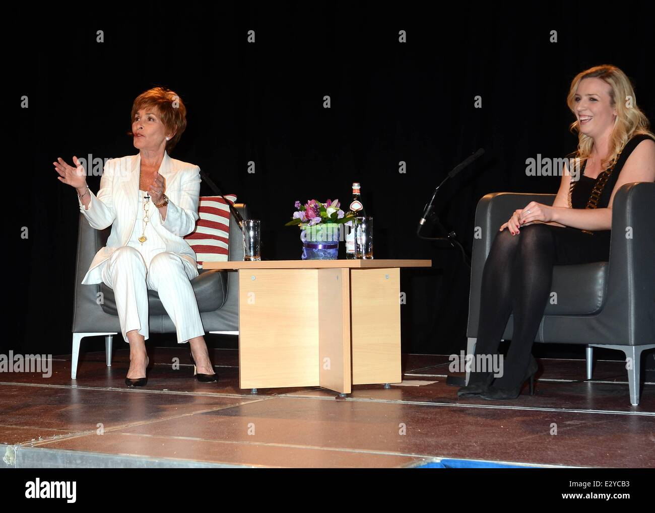 America S Highest Paid Television Personality Judge Judith Stock Photo Alamy
