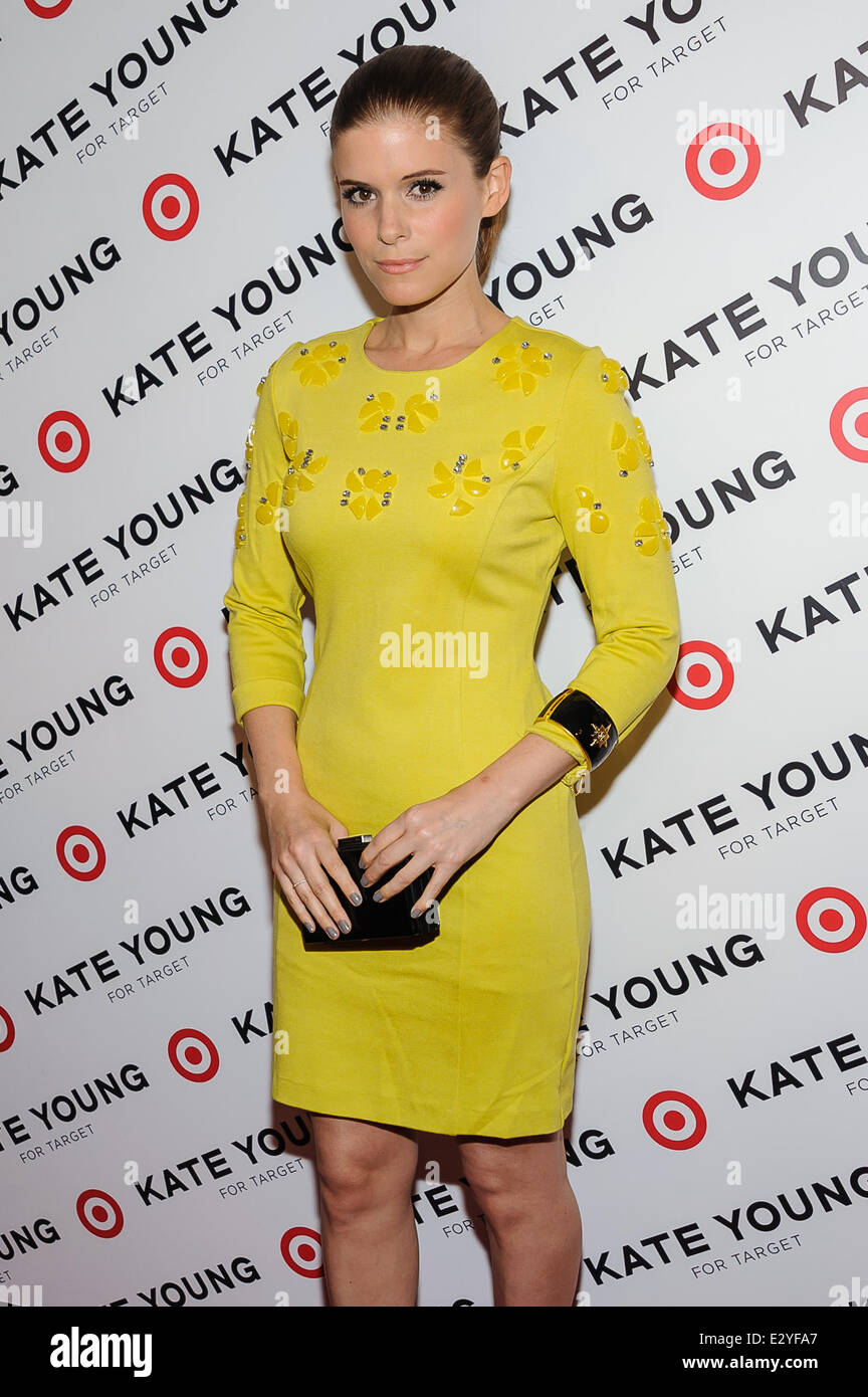 3f24f1a9430 Kate Young For Target Launch held at Old School - Arrivals Featuring  Kate  Mara Where