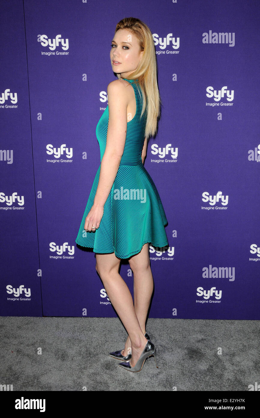 81a4c42e6fb 2013 SYFY Upfront Presentation - Arrivals Featuring  Kristen Hager Where   New York City