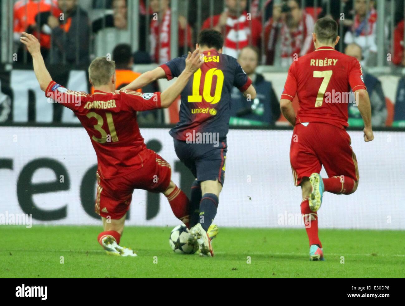 Bayern Munich 4 0 Barcelona Champions League Semi Final At The Stock Photo Alamy