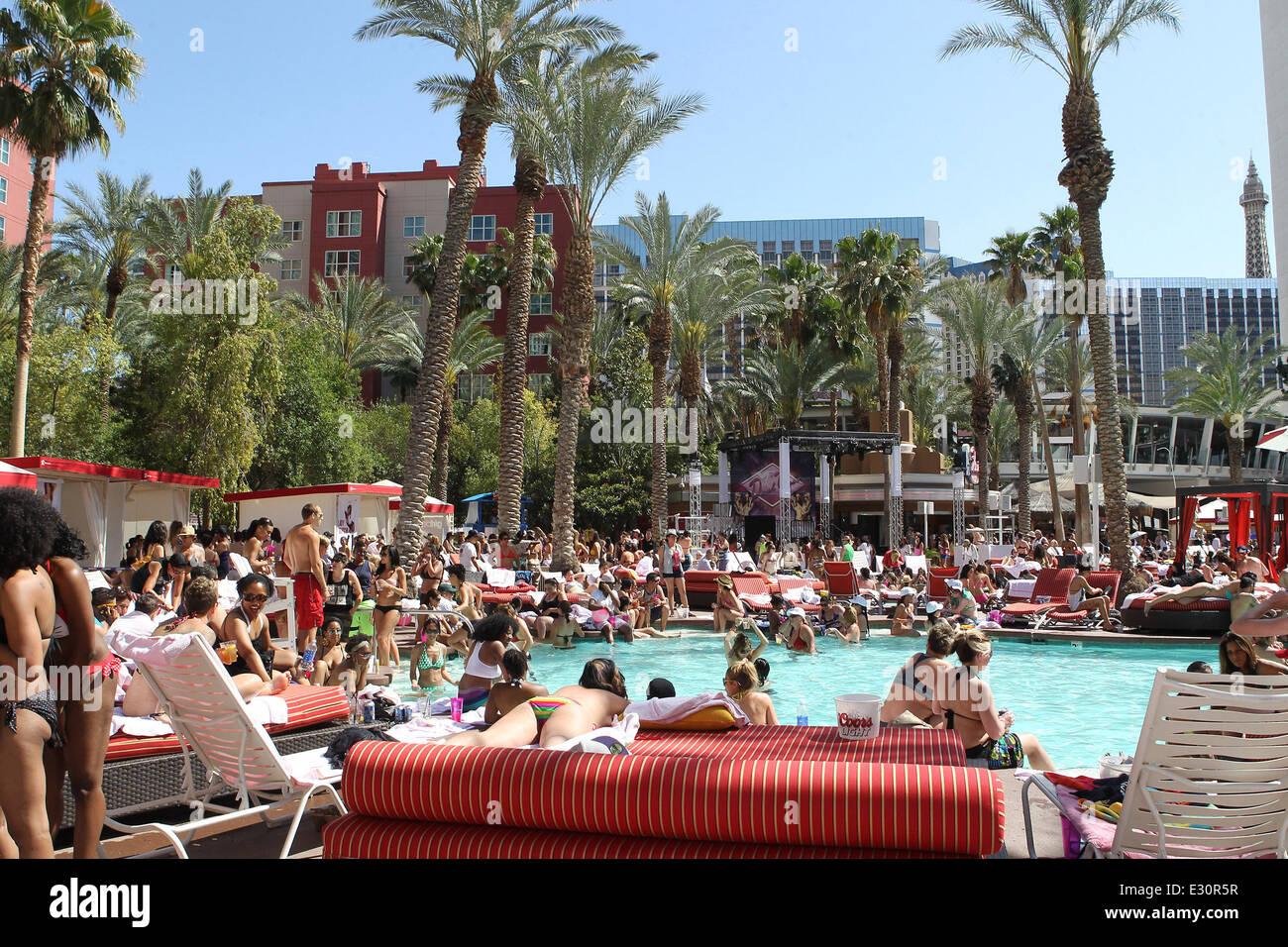 Dinah Shore Las Vegas weekend INFINITY Pool Party 2013 Featuring