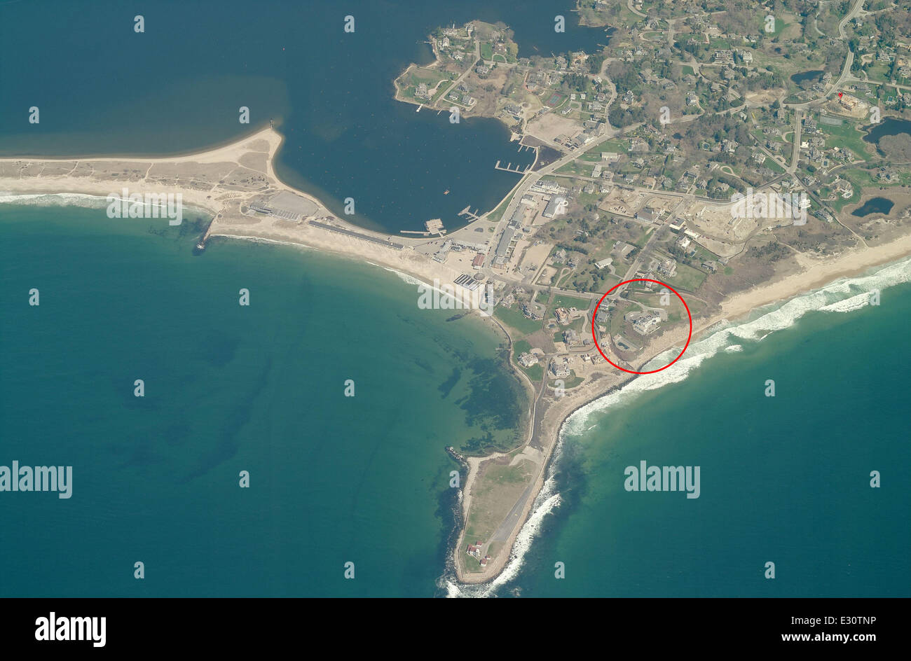 Aerial View Of The New House That Taylor Swift Has Reportedly Stock Photo Alamy
