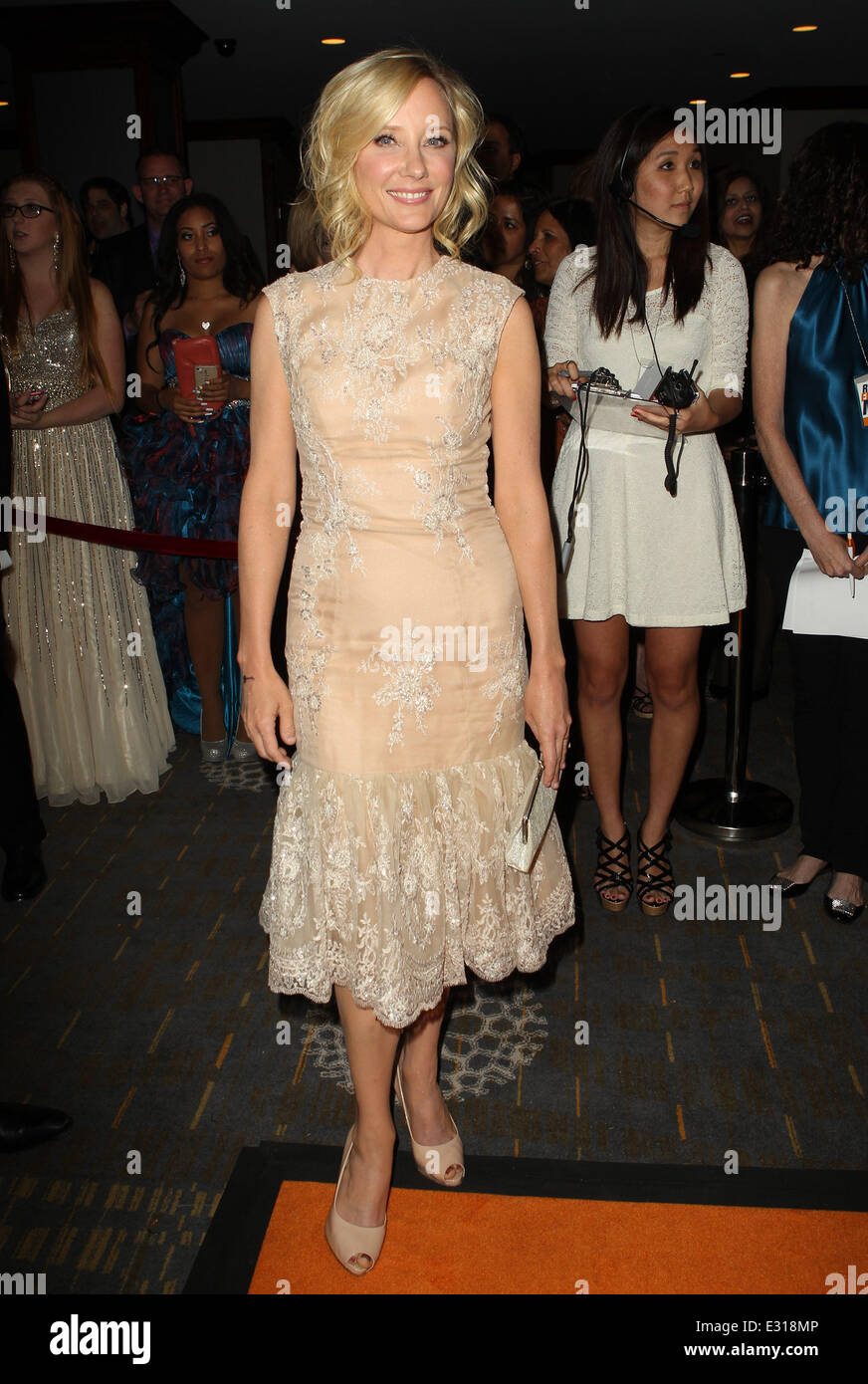 20th Annual Race To Erase MS Gala 'Love To Erase MS' - Cocktail Reception  Featuring: Anne Heche Where: - Stock Image