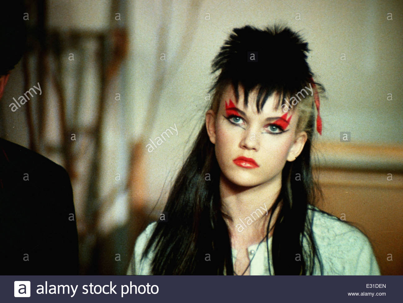 Still from the 1982 film 'Ladies and Gentlemen, The Fabulous Stains'. Courtesy Granamour Weems Collection. - Stock Image