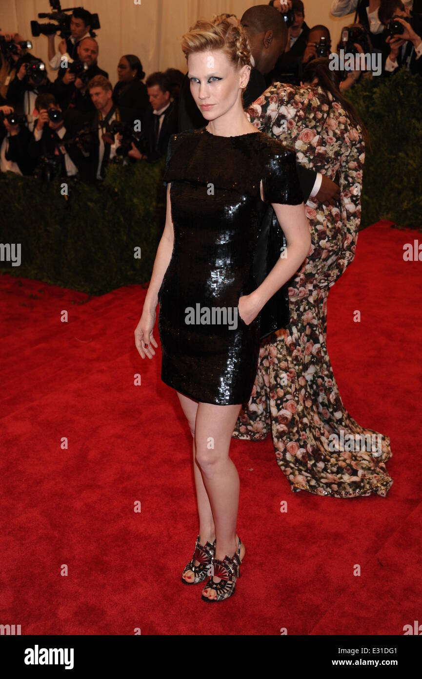 'PUNK: Chaos to Couture' Costume Institute Gala at The Metropolitan Museum of Art - Arrivals  Featuring: January Stock Photo
