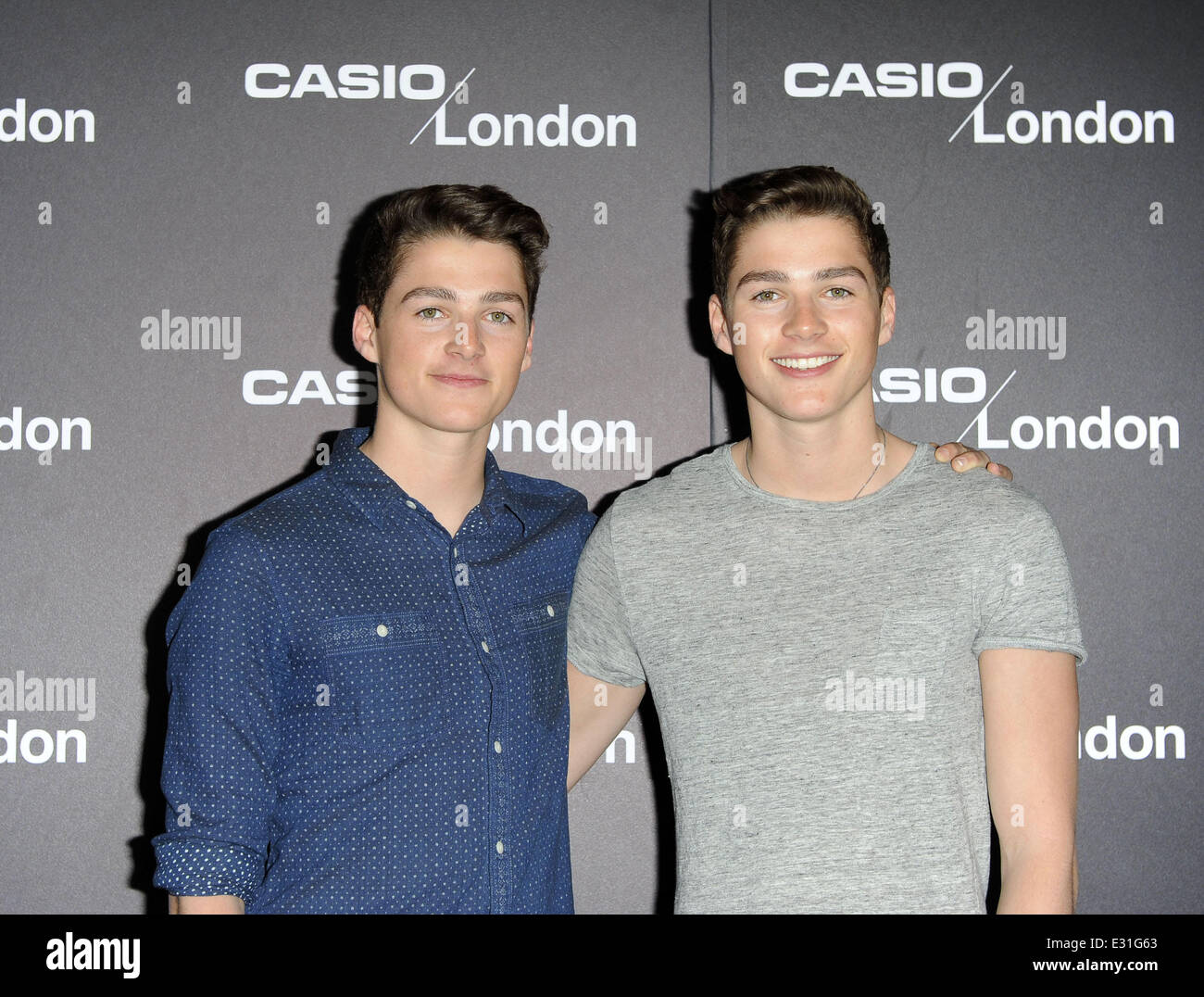 Casio London Store 1st Birthday Party Held At The Covent Garden Featuring Jack HarriesFinn Harries Where United Kingdom When 08 May 2013
