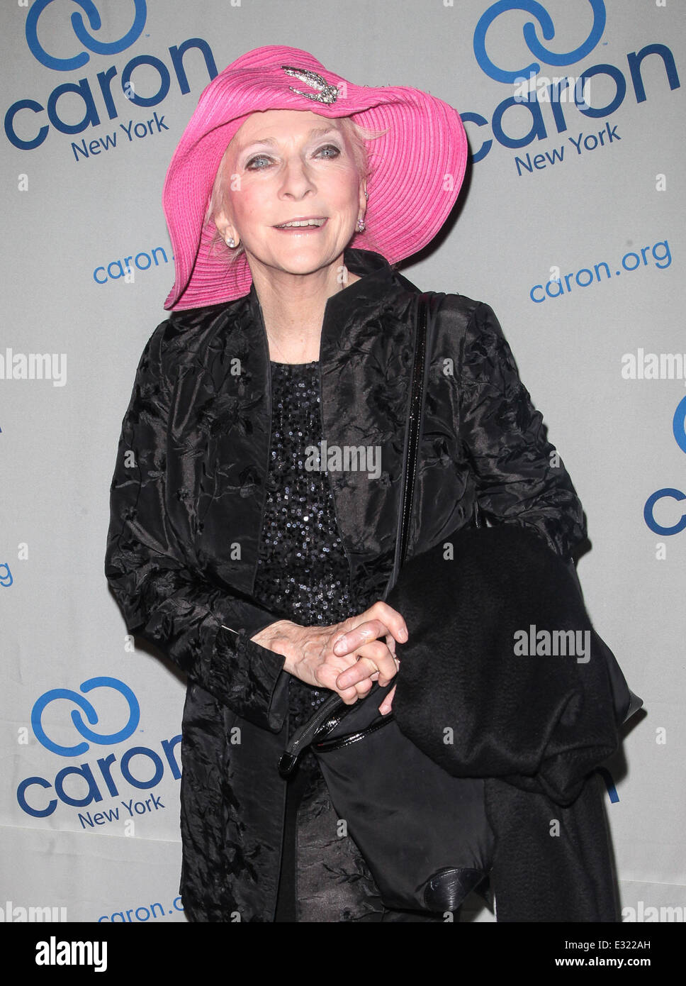 Music legend Paul Williams is honoured at the Caron Gala at Cipriani's in New York City  Featuring: Judy Collins - Stock Image