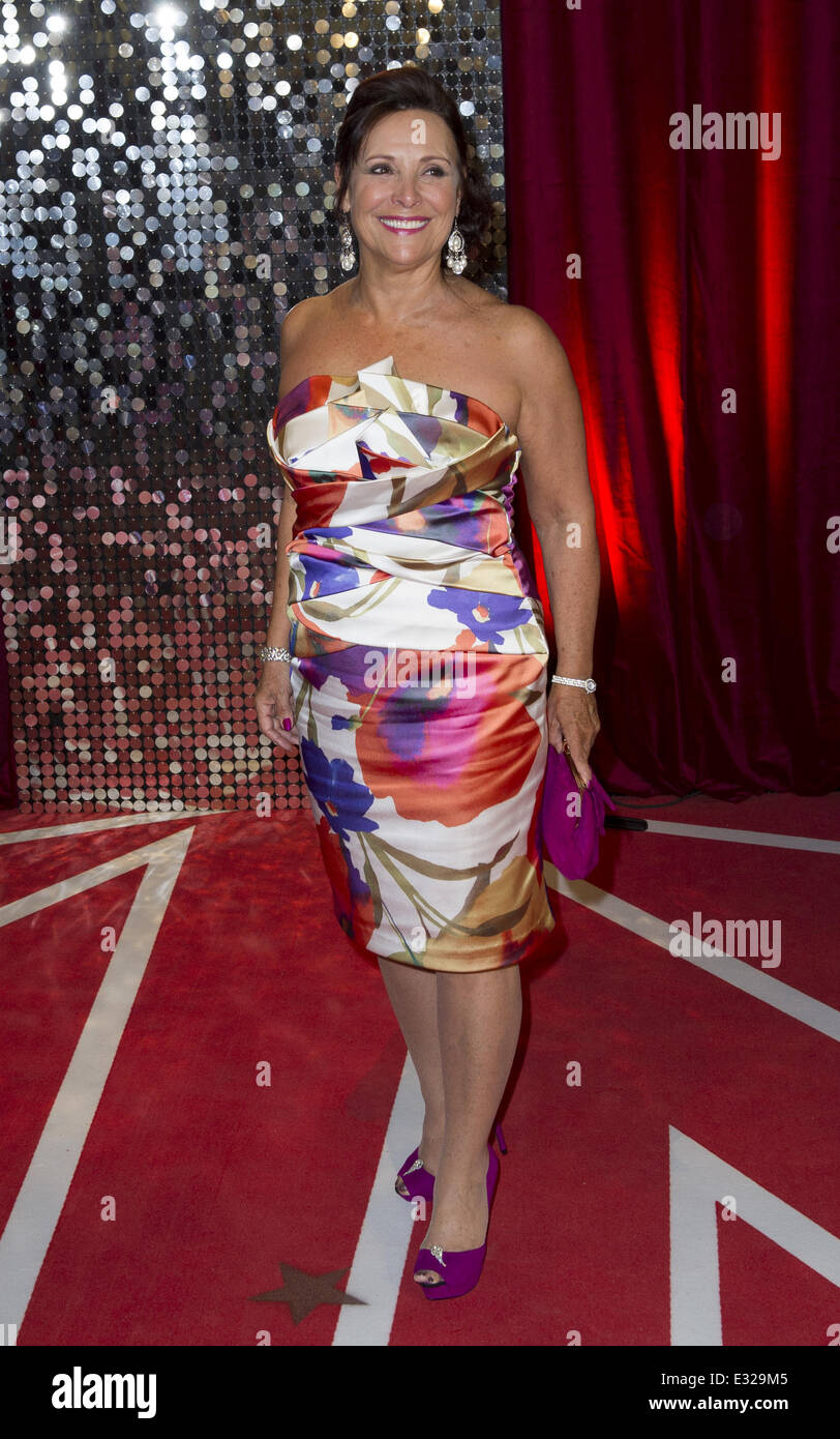 Diane Keen The British Soap Awards 2012 held at the London