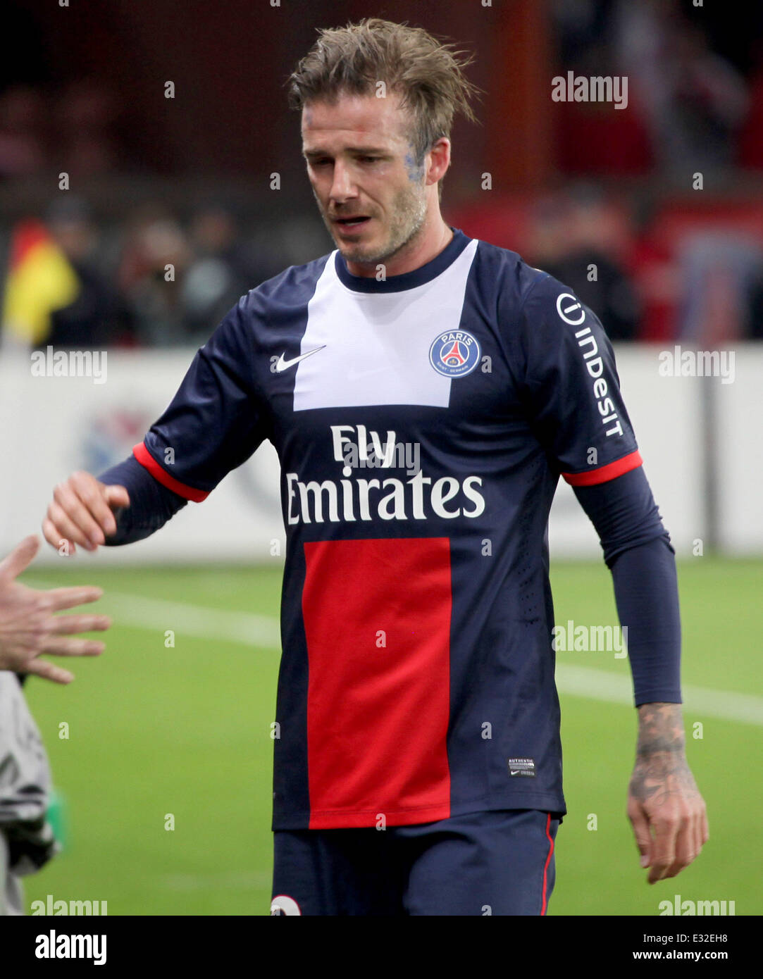 size 40 44409 d5aa9 David Beckham plays his last match before retirement with ...