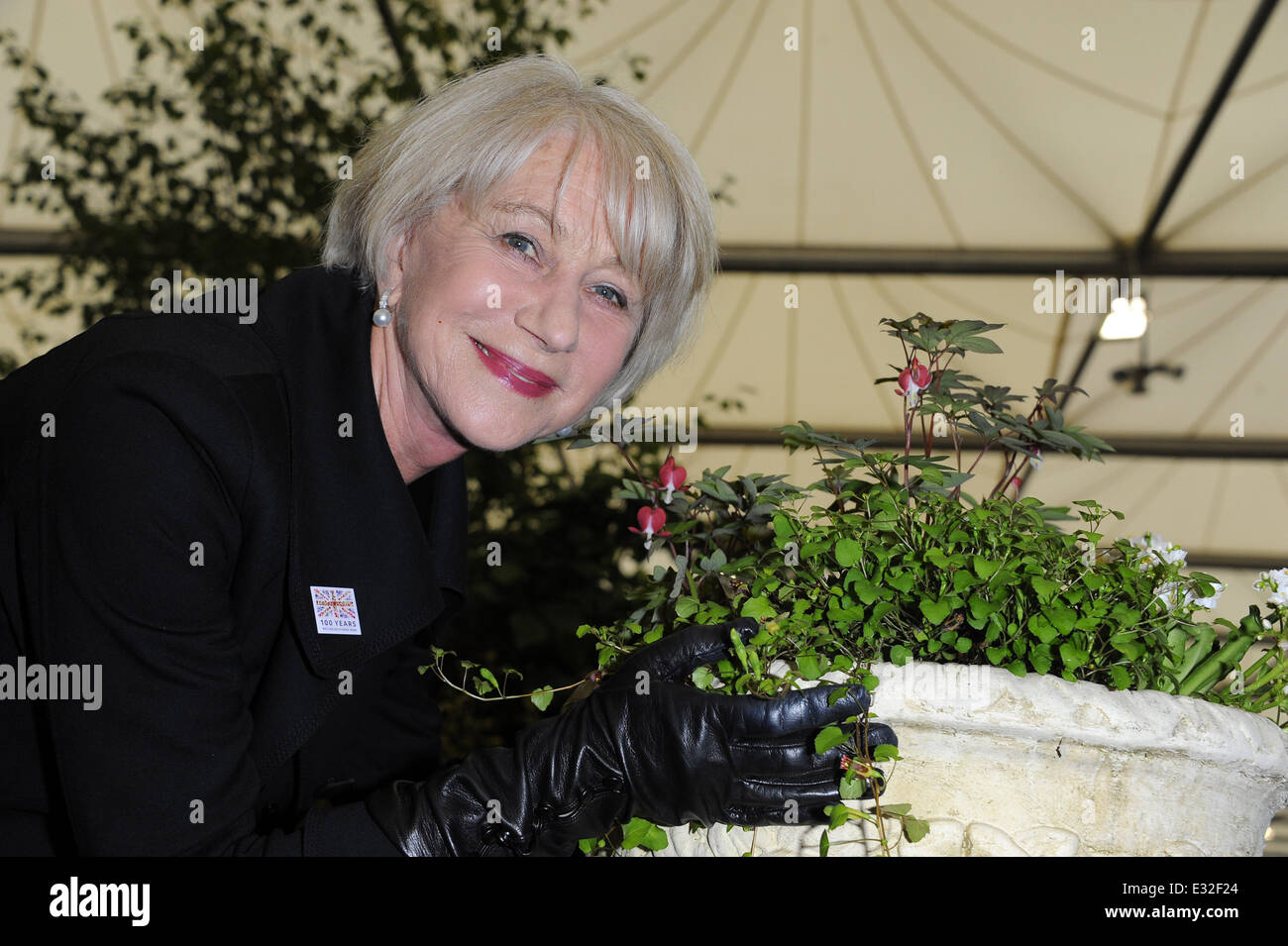 dd1276958b4 RHS Chelsea Flower Show 2013 - VIP and press preview day Featuring  Helen  Mirren Where