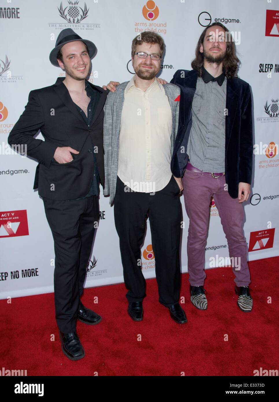 EndGame: The Global Campaign to defeat AIDS, TB And Malaria charity event at The McKittrick Hotel  Featuring: King - Stock Image