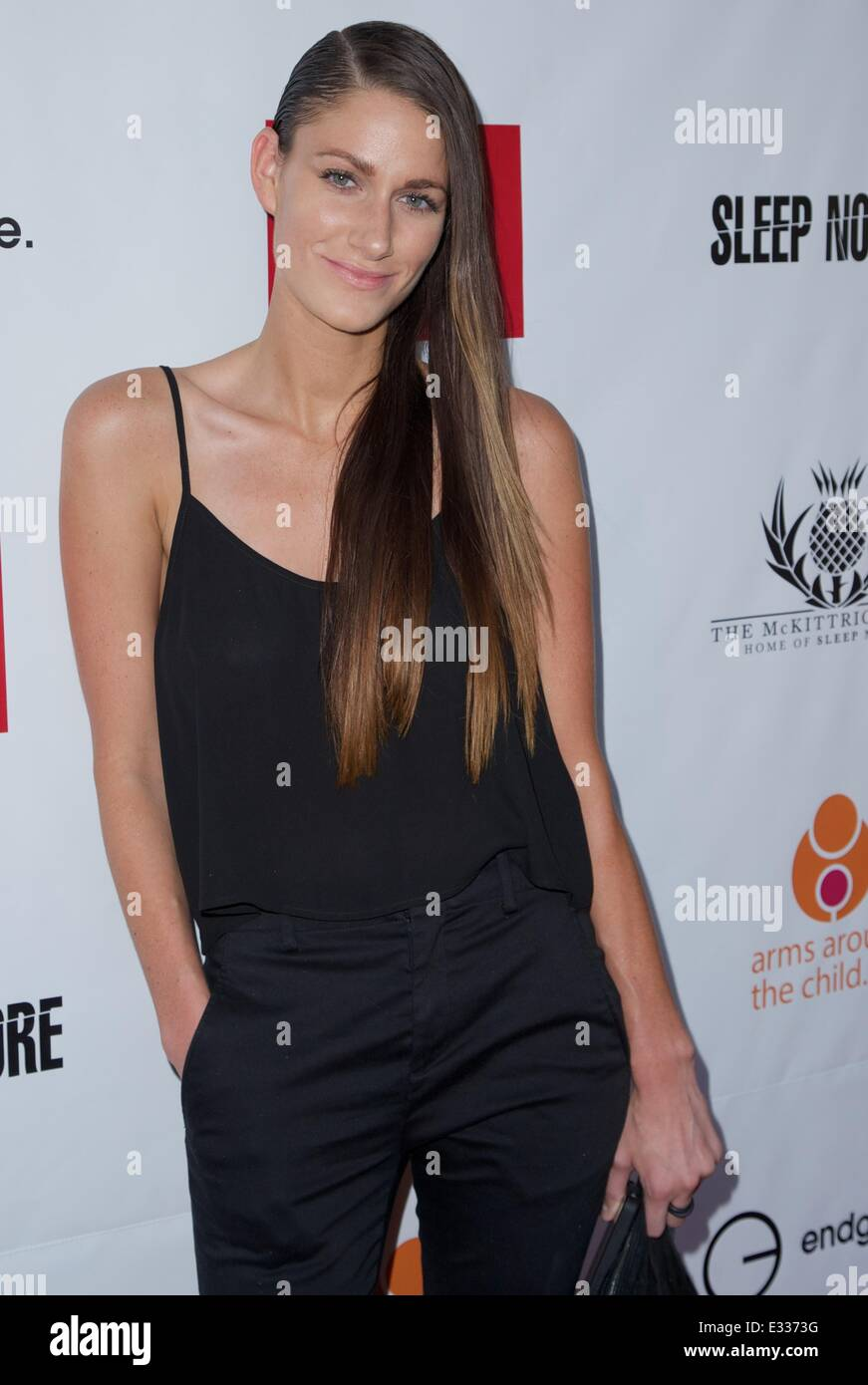 EndGame: The Global Campaign to defeat AIDS, TB And Malaria charity event at The McKittrick Hotel  Featuring: NIIA - Stock Image