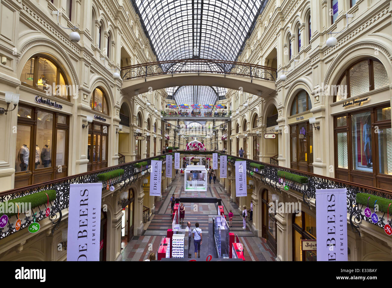 The best shopping center in Moscow for shopping