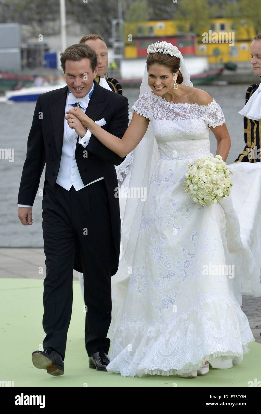 The wedding of Princess Madeleine of Sweden and Christopher O\'Neill ...