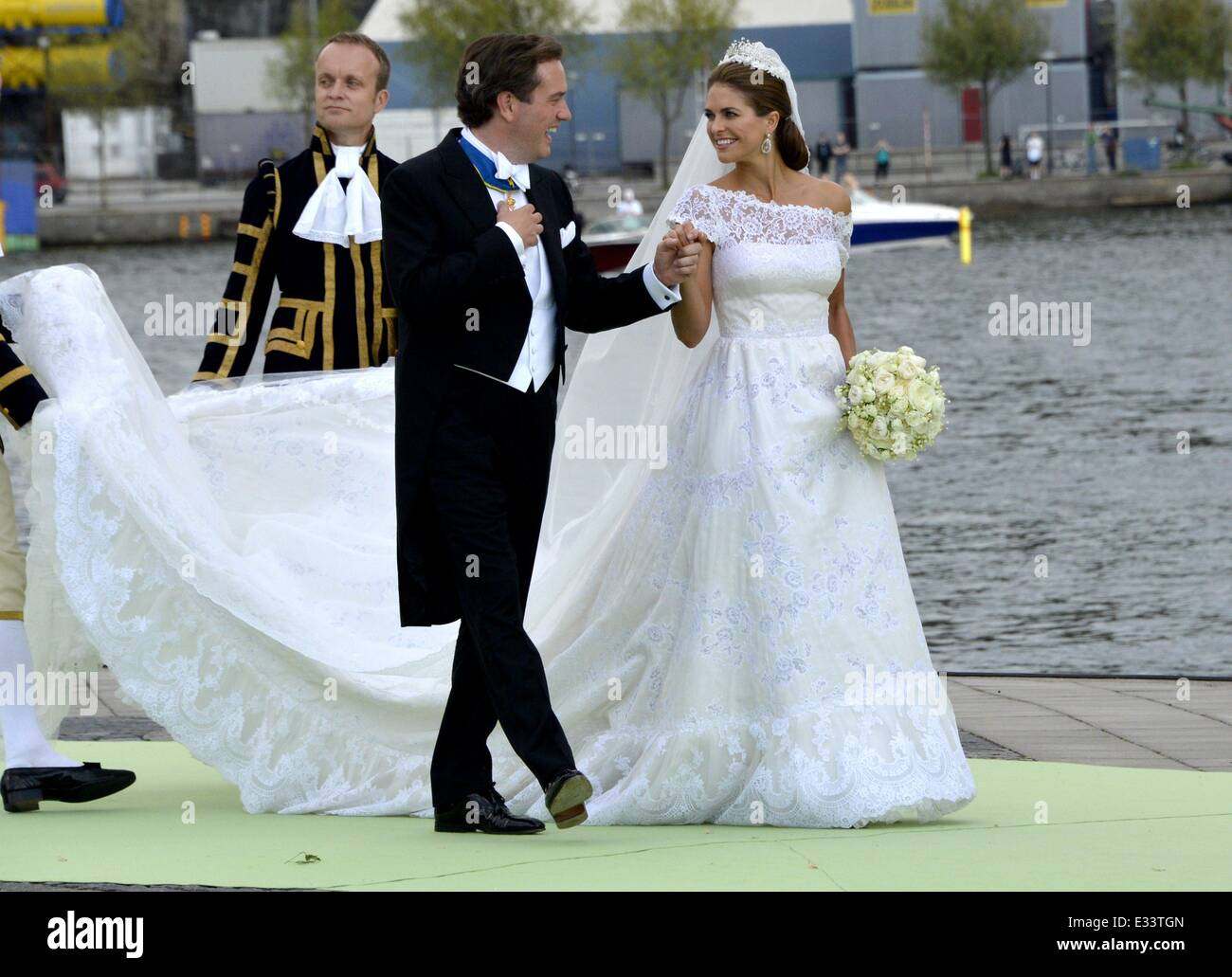 Famous Princess Marie Of Denmark Wedding Dress Ornament - All ...